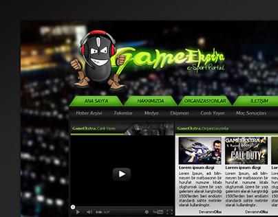 Game Ekstra Web Design