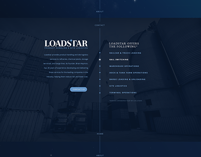 Loadstar Splash Page