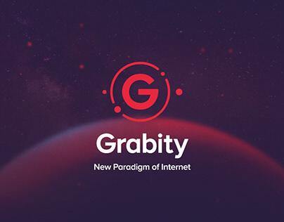 Grabity - Blockchain startup branding