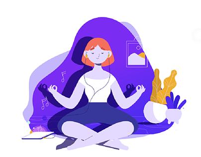 Ilustration Set for startups