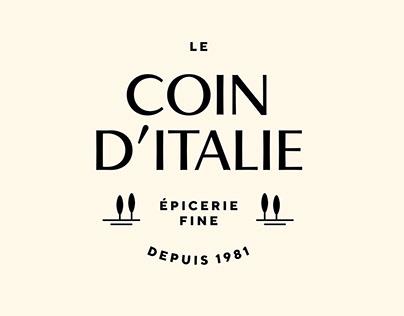Le Coin d'Italie | Rebranding