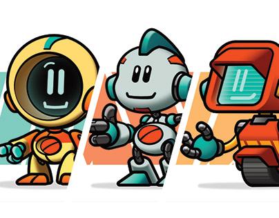 B50 Robots | character illustrations