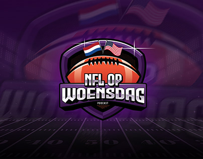 NFL op Woensdag Podcast Rebrand and Social Media Design