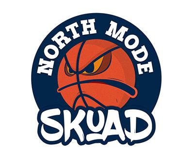 North Mode Skuad logo + disco