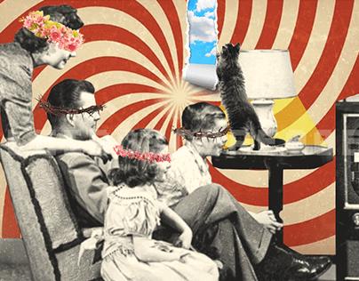 Collage Art - sans connotation