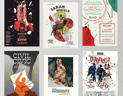 Gig Posters   Selection #2