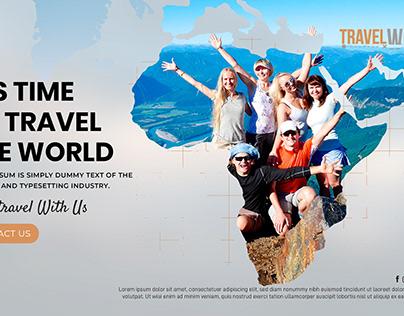 Travel World (Landing Page)