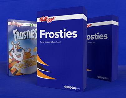 Daily Project | Cereal Packaging Design | Frosties