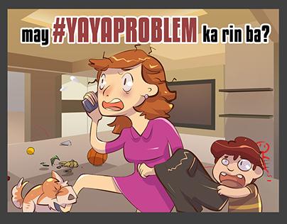 Yaya Problem illustration Project
