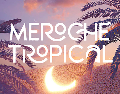 Meroche - Sweet Display Font