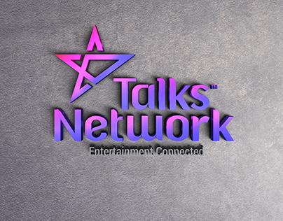 Talk Network Logo Design