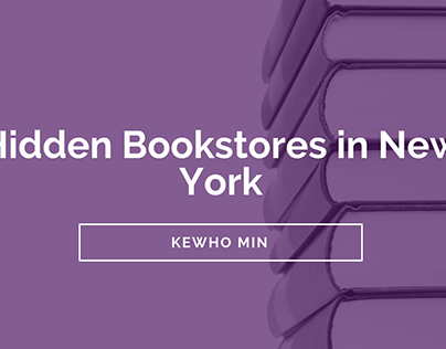 Kewho Min | Hidden Bookstores in New York