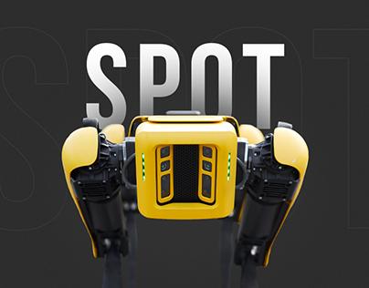 Spot Boston Dynamics — web