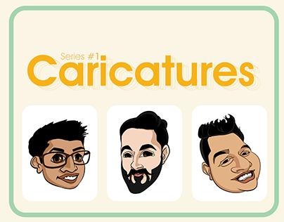 Series#1 Caricatures