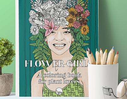 Flower Girls - Malbuch