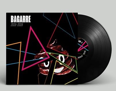 2019-2019, BAGARRE, Vinyl Cover Design