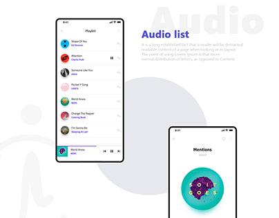 Media UI Concept