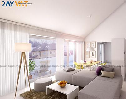 3D Interior Apartment Switzerland