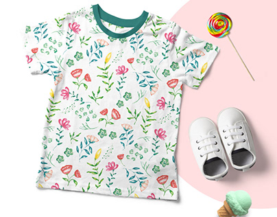 Prints and Pattern | Kids Wear | Spring Bouquet