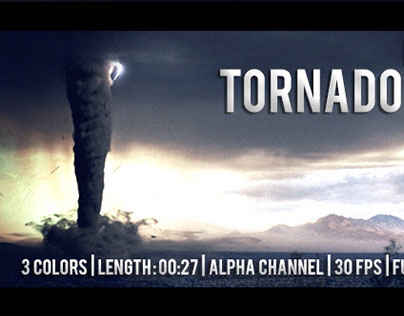 V2 - Realistic Tornado / Twister 3 Colors