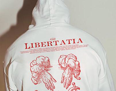 LIBERTATIA project - Sweatshirt design