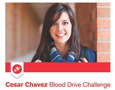 American Red Cross Blood Drive Poster - Chavez