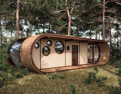 Eco capsule house