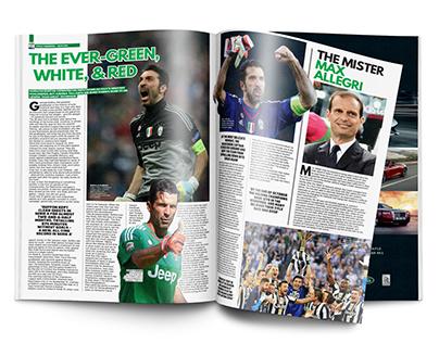 Soccer 360 Magazine spreads