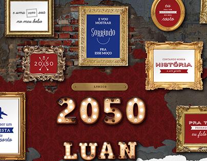 Lyric Video 2050 – Luan Santana