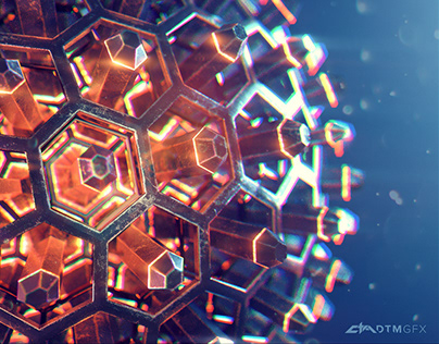 Abstract sphere - Houdini + Redshift study