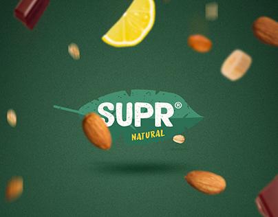 SUPR NATURAL - BRAND IDENTITY