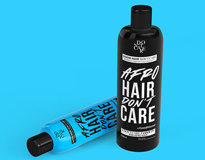 Good Hair Don't Care: Branding & Packaging