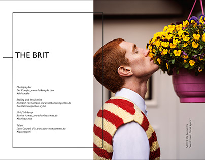 """The Brit"" Mens Fashion Editorial"