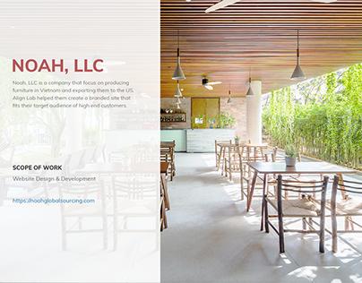 Noah LLC Website redesign