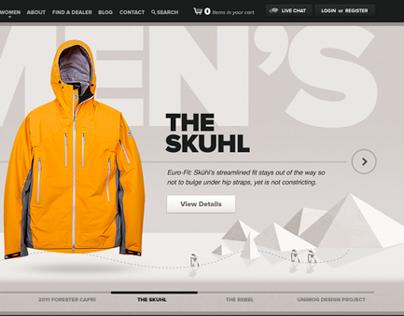 Kühl.com E-commerce