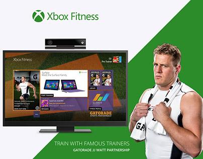 Xbox Fitness Portfolio for Web (WIP)