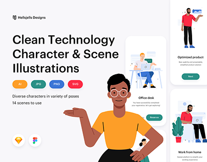 Character Illustration Kit