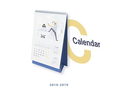 Calendar for IT company