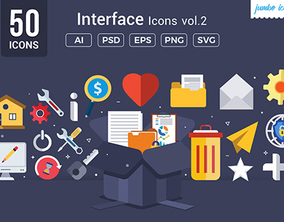 Interface Vector Icons V2