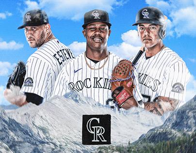Colorado Rockies Art Direction Concept