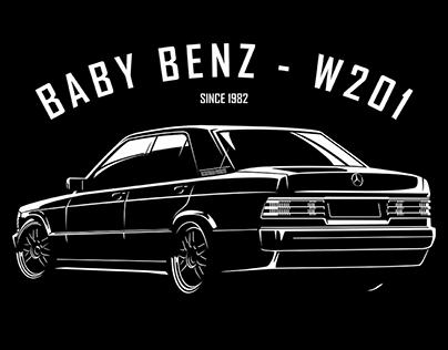 Mercedes Baby Benz - W201