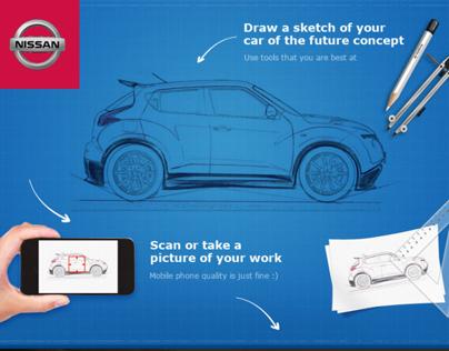 Nissan Facebook App