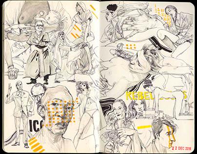 Sketch book NO.11