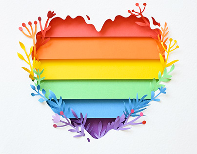 Pride Month | Paper art