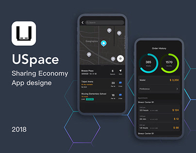 USpace App Design