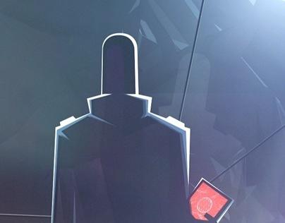 EXODUS - A low poly sci-fi saga set to a disco theme.