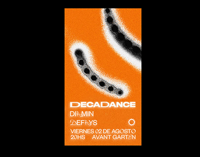 FLYER FOR DECADANCE