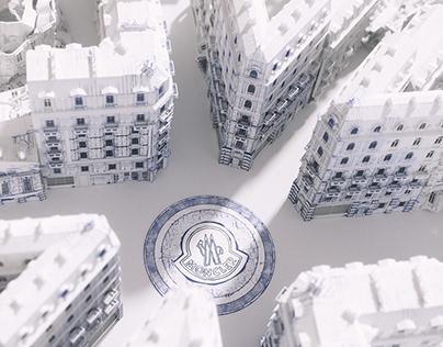Moncler Paper Paris