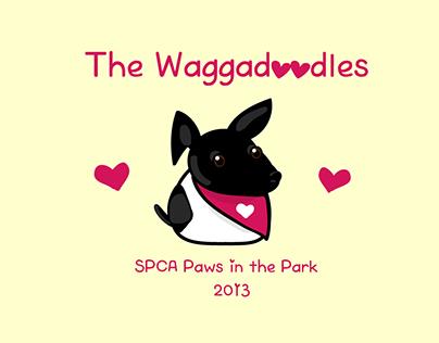 SPCA team pin design