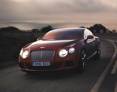 Bentley Sunset